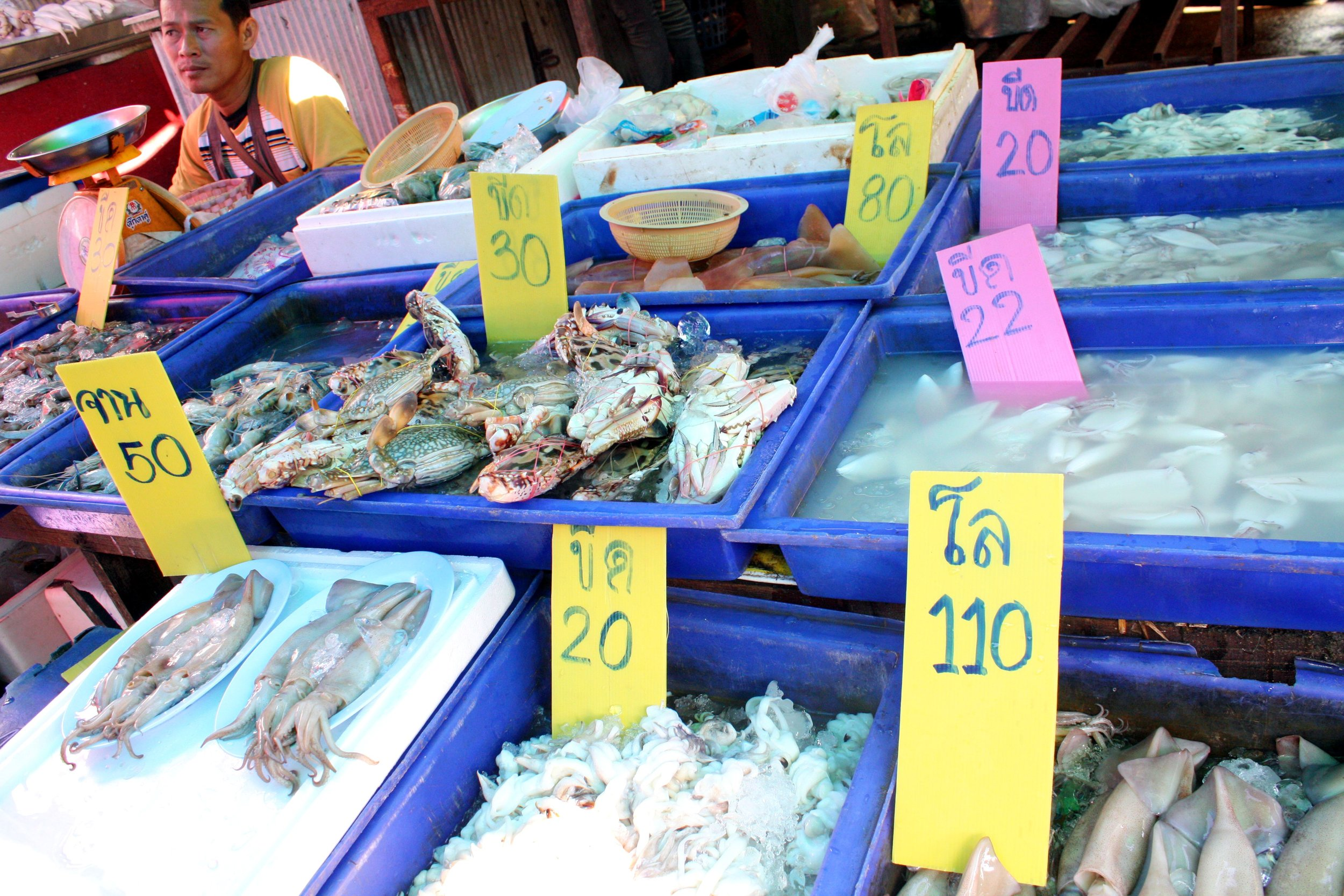Some fresh and affordable seafood!