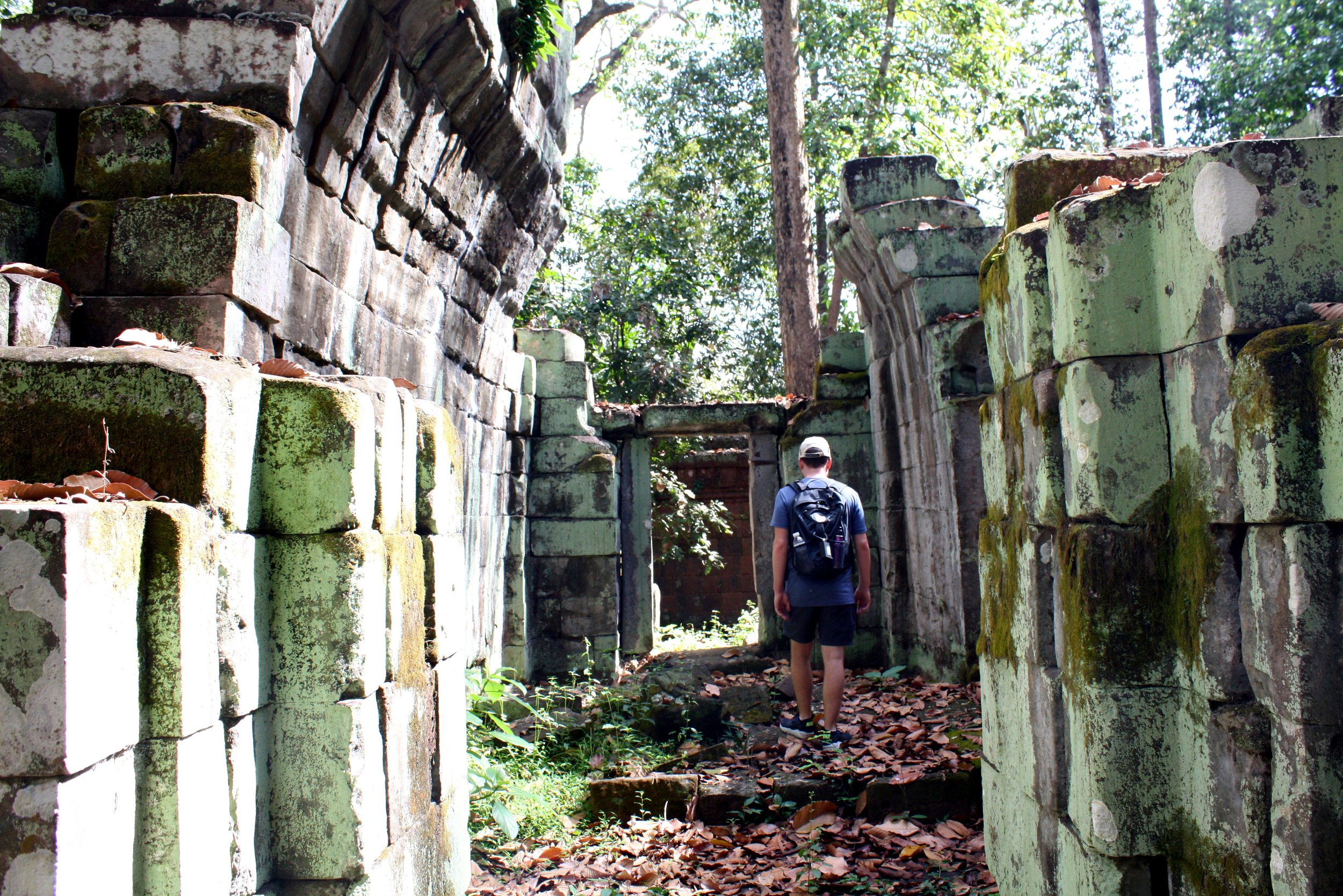 Somewhere in the middle of Angkor Thom...