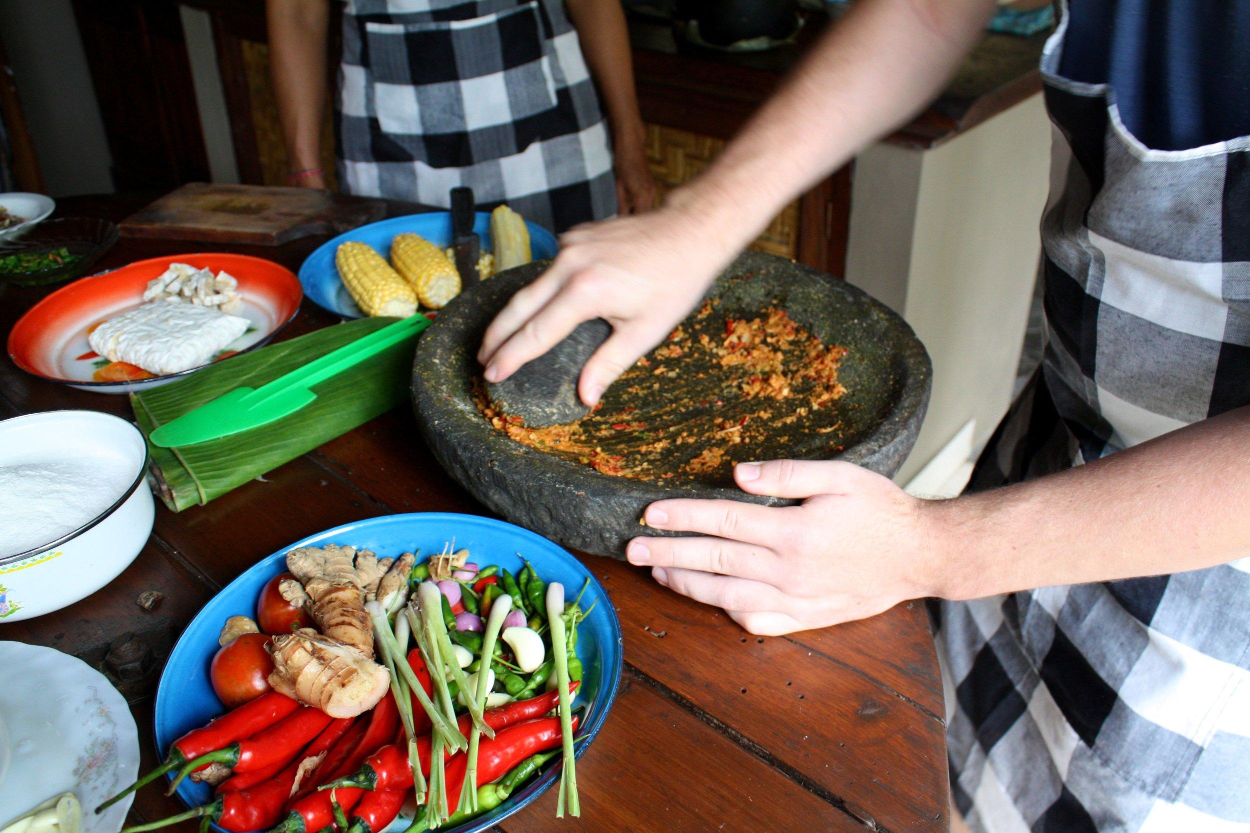 Dewa Cooking Class