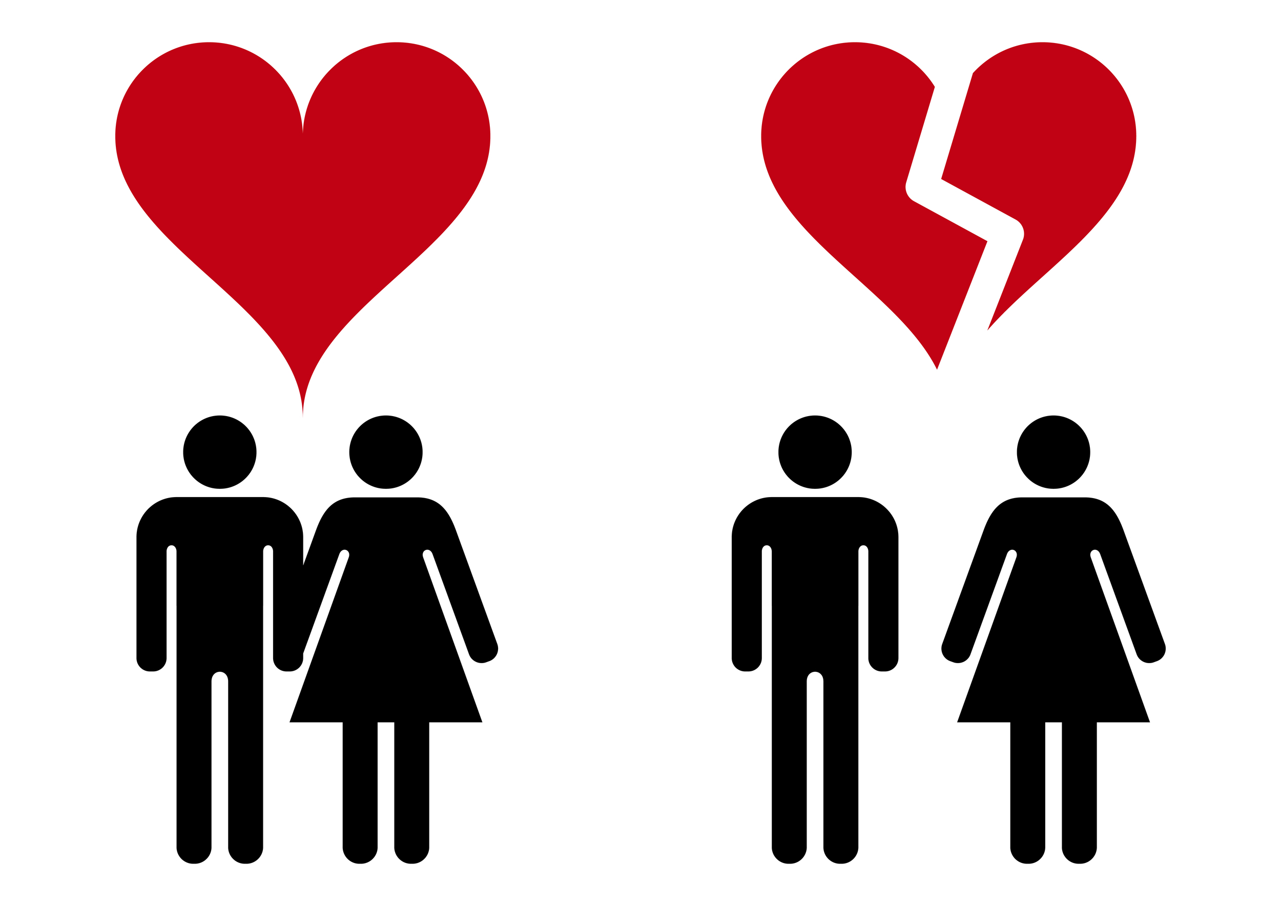 In the state of Ohio alone, nine out of 1,000 marriages end in divorce each year