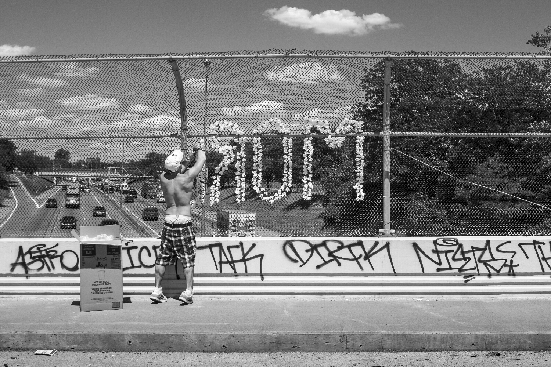 Junction St. I94 overpass, Detroit.