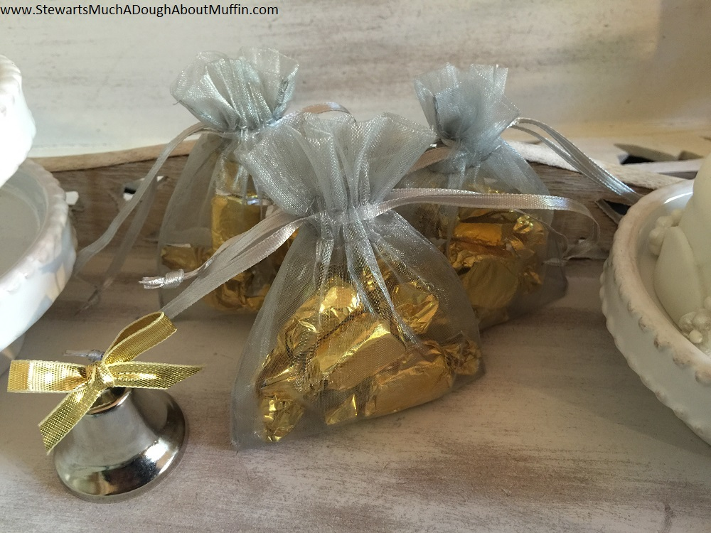 Stewart's Toffee (or) Highland Cream in your choice of 31 colors organza bags & nearly a dozen colors of foil wrap ~