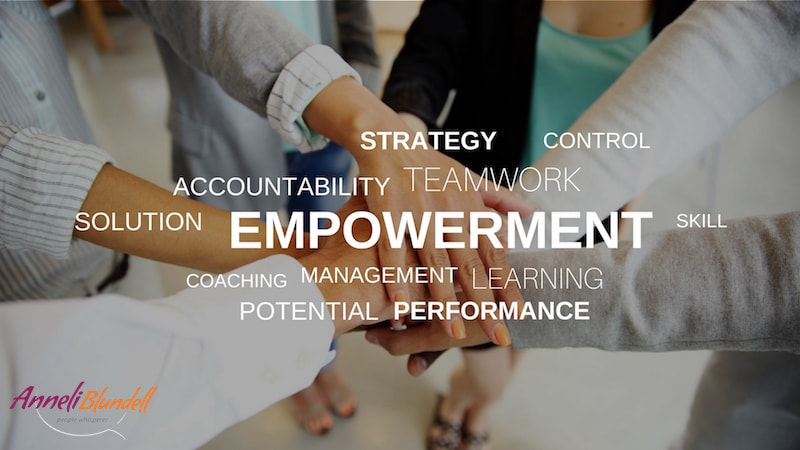 Anneli Blundell Executive coaching Melbourne EMPOWERMENT
