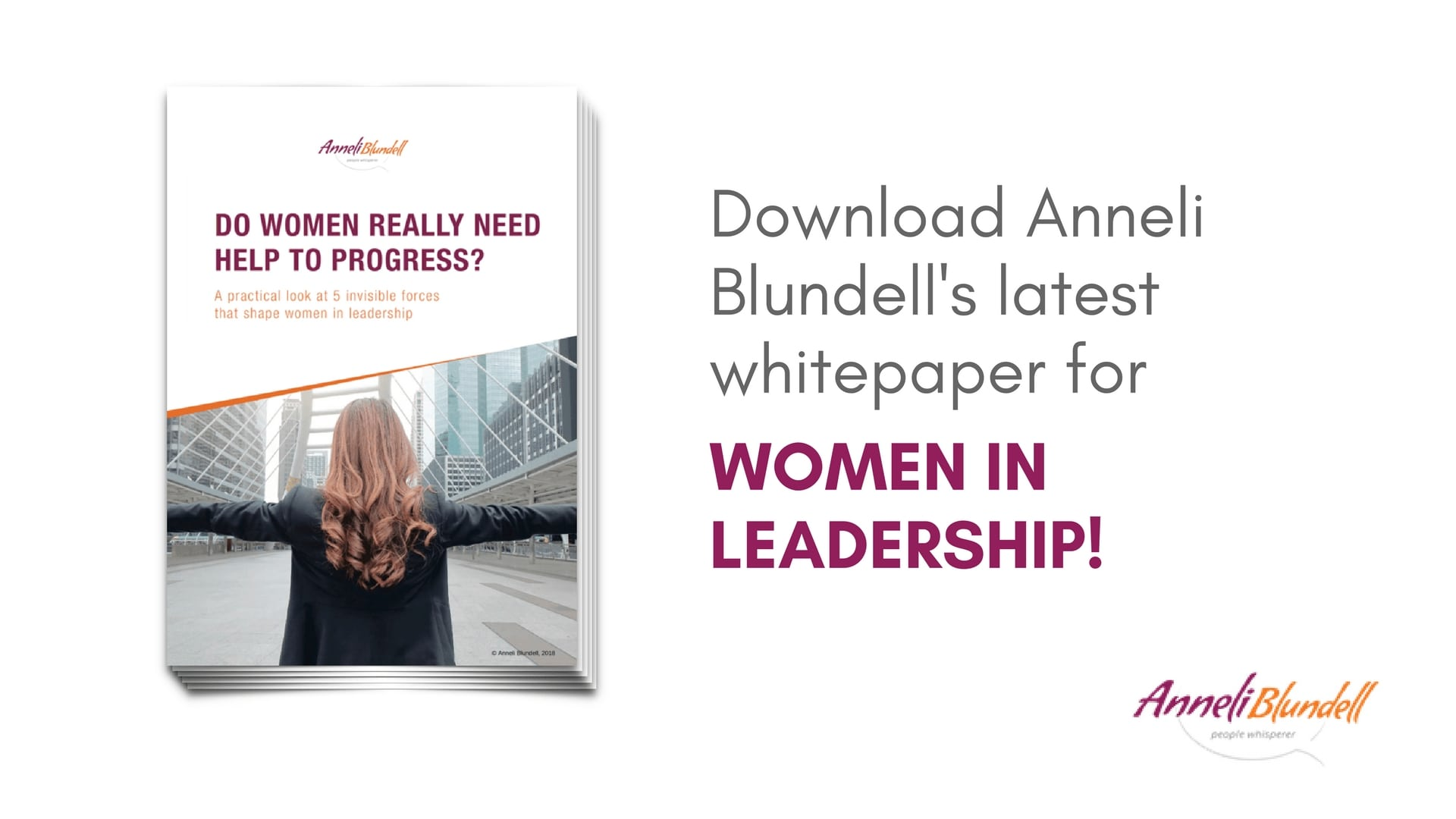 Anneli Blundell author white paper women in leadership