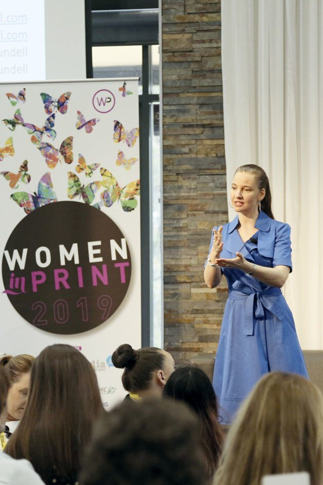 Insights: People whisperer Anneli Blundell at Women in Print this week