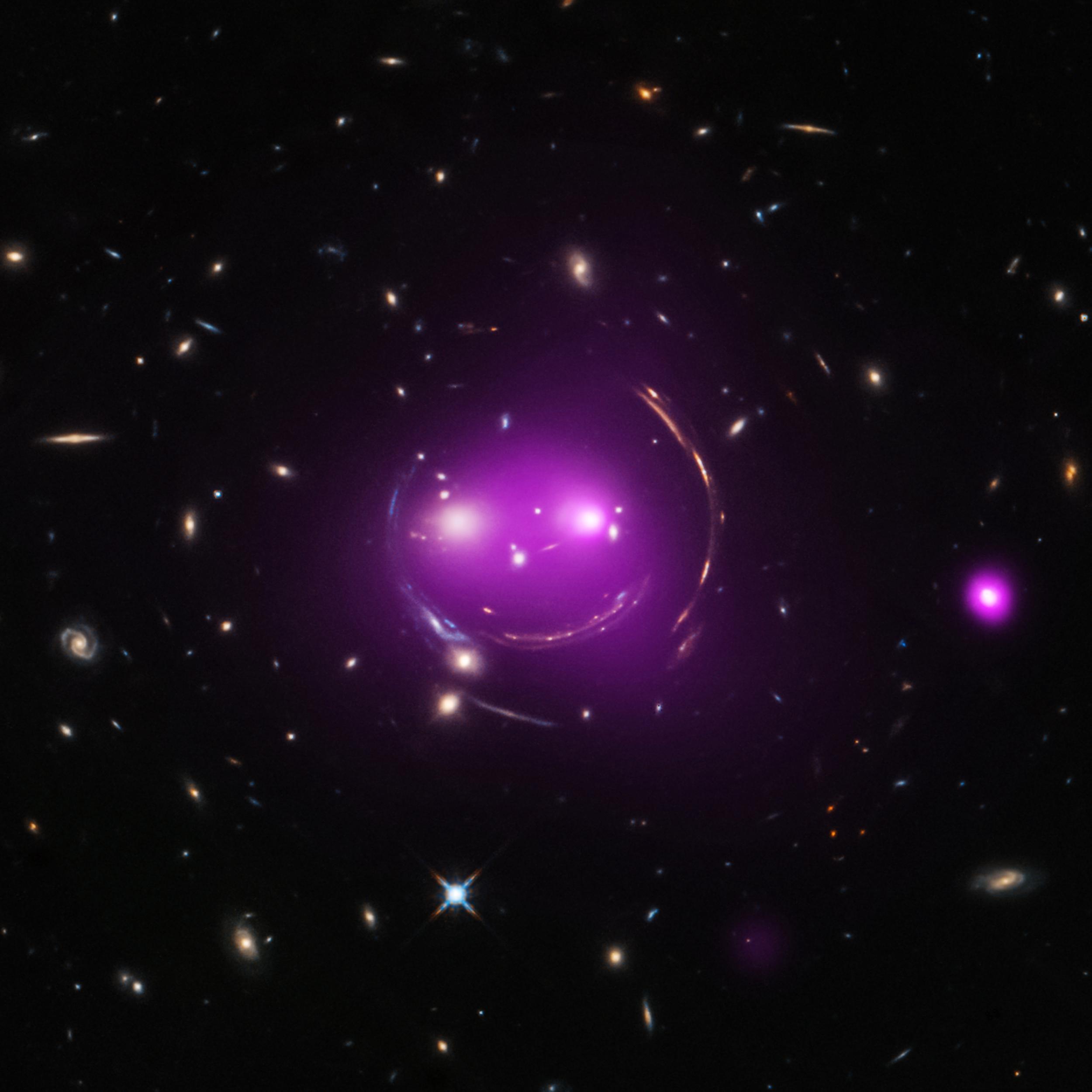 Image credit:  X-ray: NASA/CXC/UA/J.Irwin et al; Optical: NASA/STScI