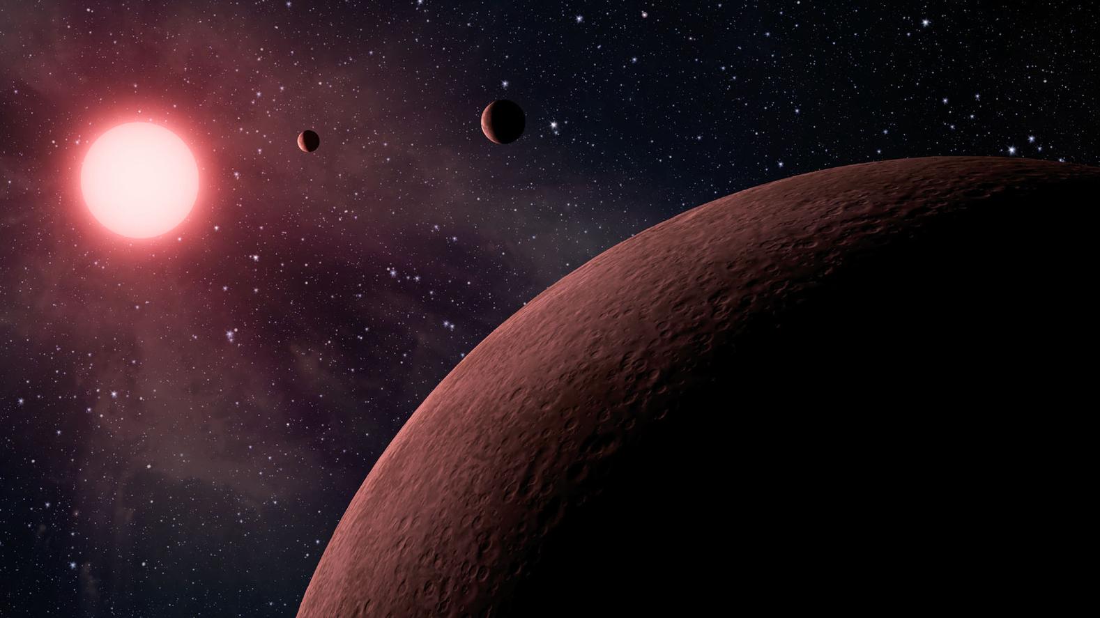 Many exoplanets may have no atmosphere at all - Image Credit:  NASA/JPL-Caltech