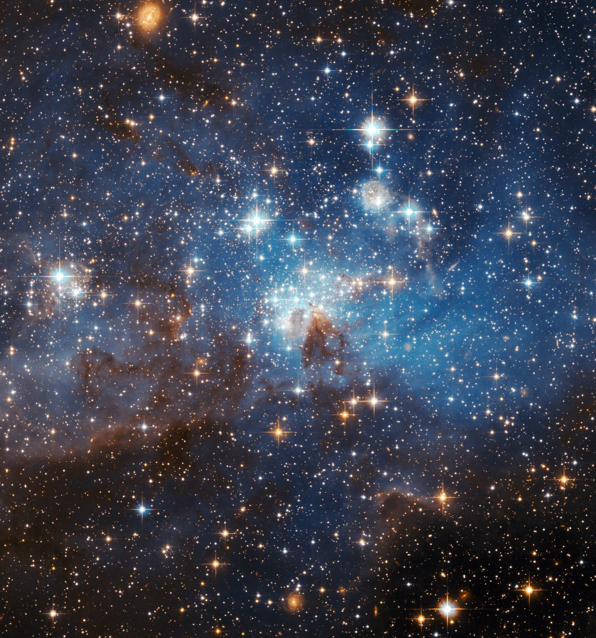 What secrets will space reveal? - Image Credit:  NASA, ESA