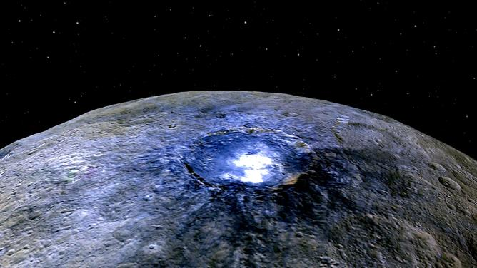 Ceres from Dawn.   – Image Credit:    NASA/JPL-Caltech/UCLA/MPS/DLR/IDA ,