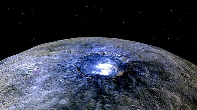 Ceres from Dawn.  – Image Credit:    NASA/JPL-Caltech/UCLA/MPS/DLR/IDA ,