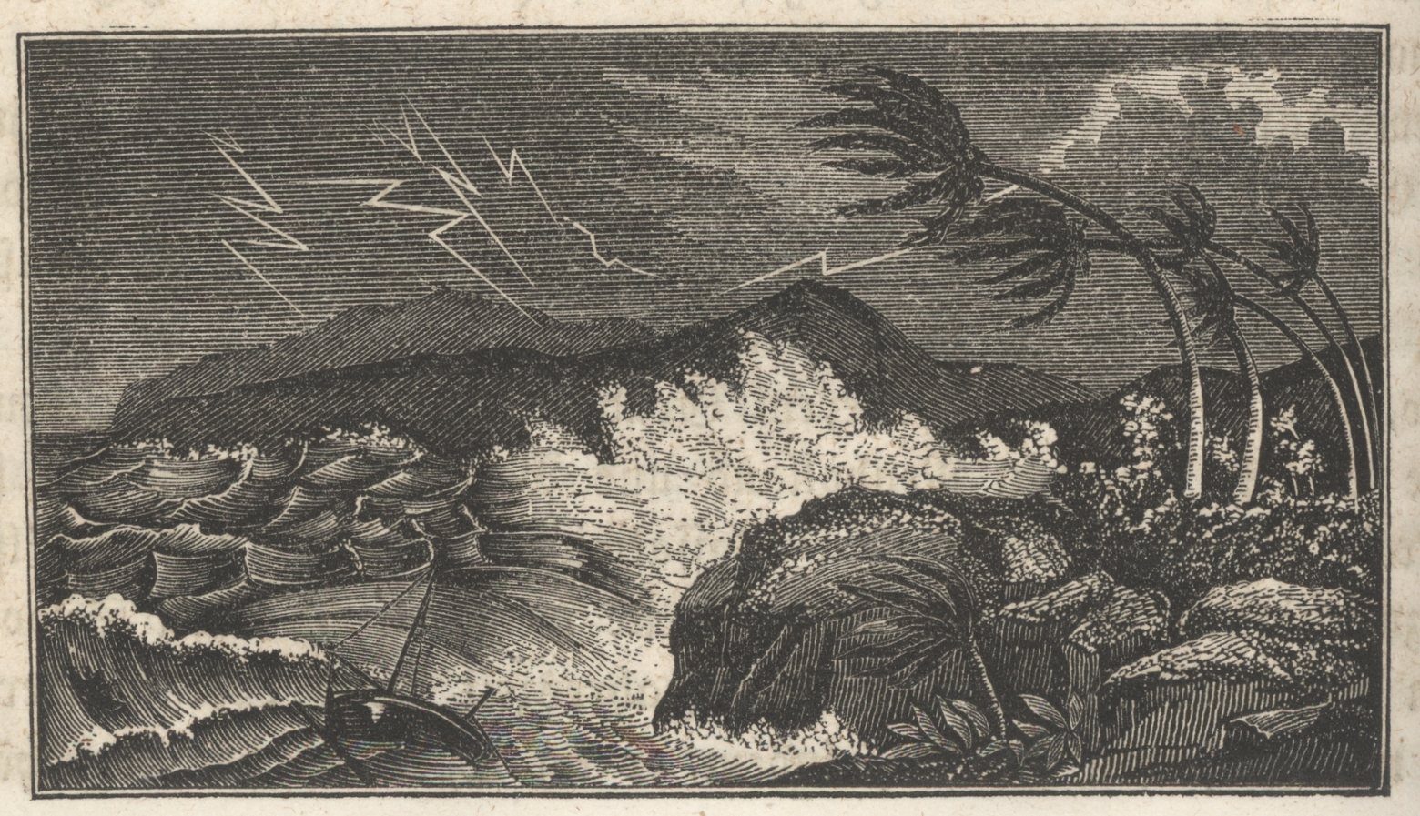 Hurricanes don't catch us off-guard as they once did, as in the time of this 1865 woodcut - Image Credit:     NOAA Central Library Historical Collections