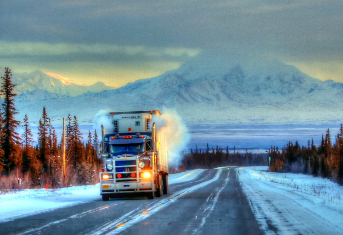 How else are you going to get it there? – Image Credit: JLS Photography - Alaska