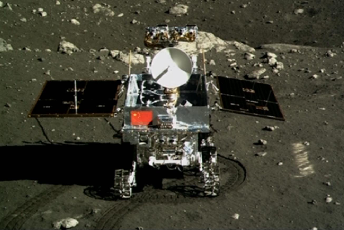 Change'3 on the moon - Image Credit:   NASA