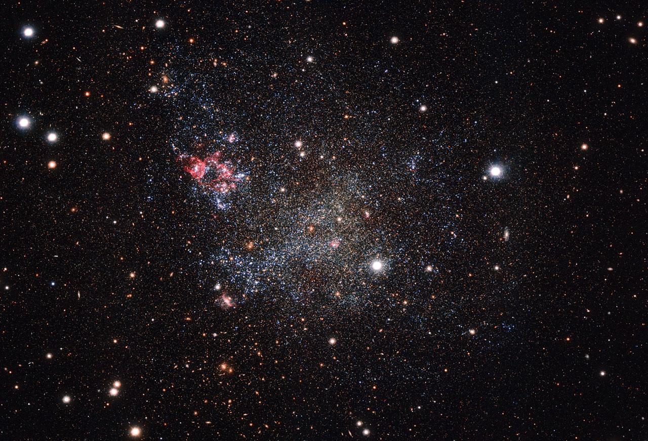 The dwarf galaxy IC 1613 - Image Credit:  ESO