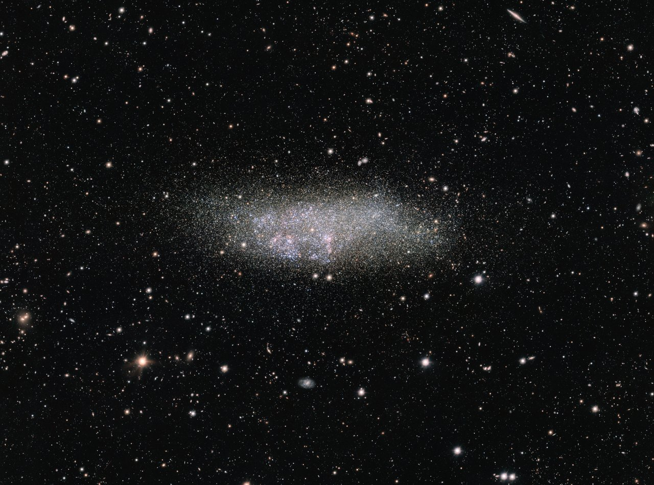 The WLM galaxy on the edge of the Local Group -Image Credit: ESO - Acknowledgement: VST/Omegacam Local Group Survey