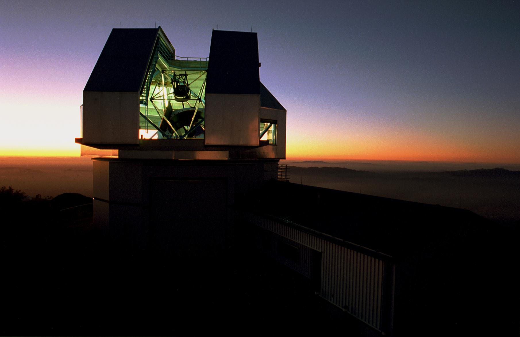 "The NEID instrument, to be completed in 2019, will be installed on the 3.5-meter WIYN telescope at the Kitt Peak National Observatory in Arizona, and detect exoplanets by measuring the miniscule ""wobbling"" of stars. - Image   Credits: Mark Hanna/NOAO/AURA/NSF"