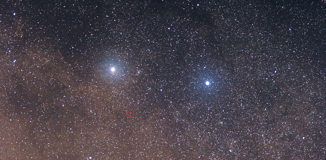 Are we soon to visit Alpha Centauri (left)? - Image Credit: Skatebiker/ Wikipedia,  CC BY-SA