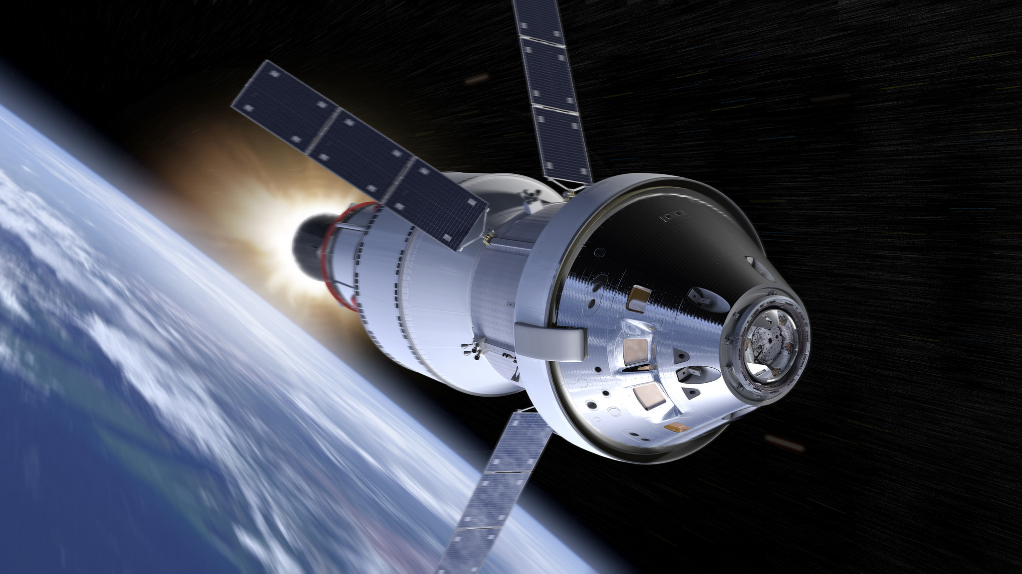 NASA's Orion spacecraft will be able to take humans further away from Earth than ever before. - Image Credits: NASA