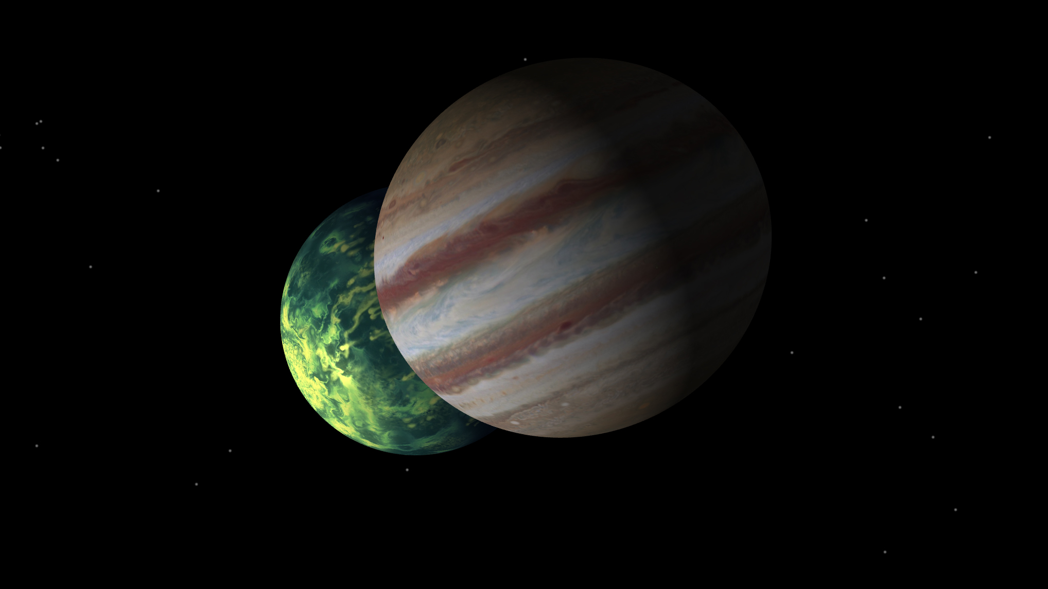 Comparing Jupiter with Jupiter-like planets that orbit other stars can teach us about those distant worlds, and reveal new insights about our own solar system's formation and evolution. (Illustration) – Image Credits: NASA/JPL-Caltech