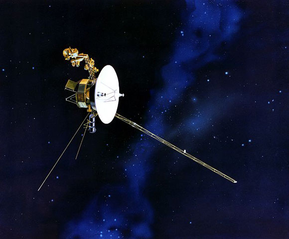 For Voyager 2, out on the edge of our Solar system, conventional navigation methods don't work too well. - Image Credit: NASA