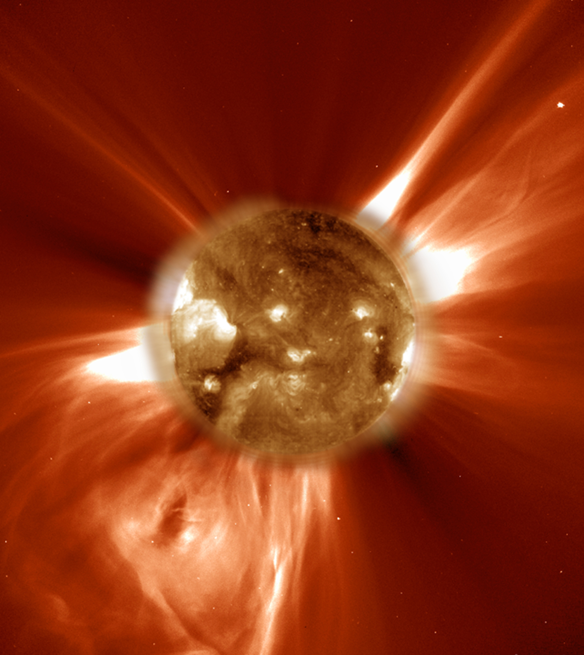 Coronal mass ejections can play havoc with Earthbound communications. – Image Credit:  NASA/JPL