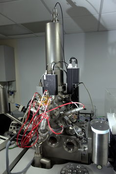 Secondary Ion Mass Spectrometer. – Image Credit: Newcastle University.