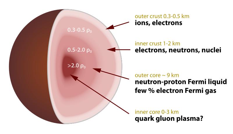 Cross-section of a neutron star. Credit: Wikipedia Commons/Robert Schulz