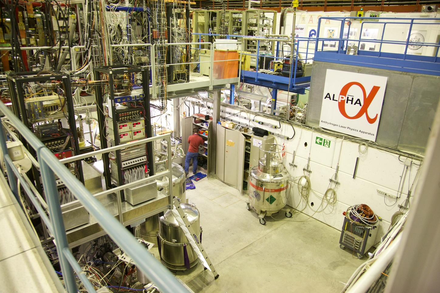 The ALPHA2 apparatus at CERN is helping to understand antimatter. - Image Credit: CERN