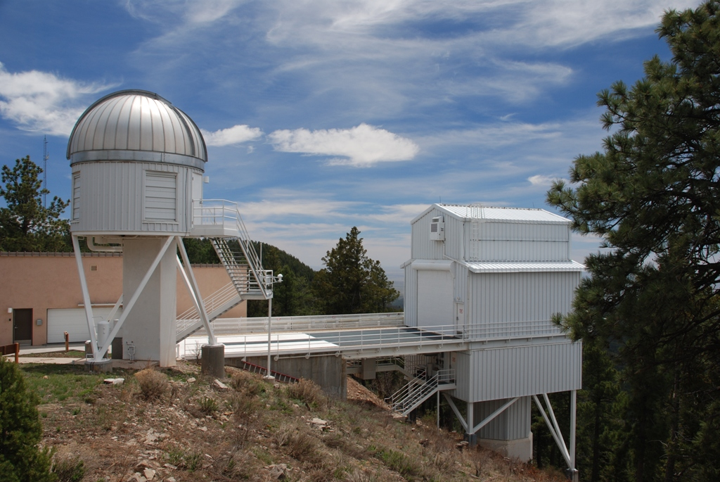 The Apache Point Observatory Galactic Evolution Experiment (APOGEE), which collects spectrographic information on distant stars. - Image Credit: - r.c./WikmediaCommons