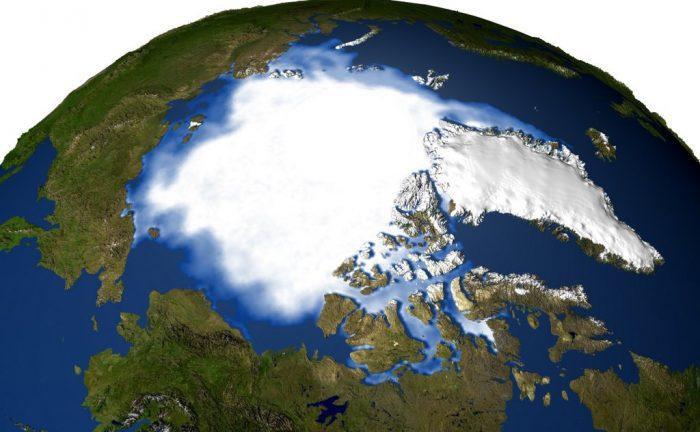 NASA icecap data - Image Credit NASA