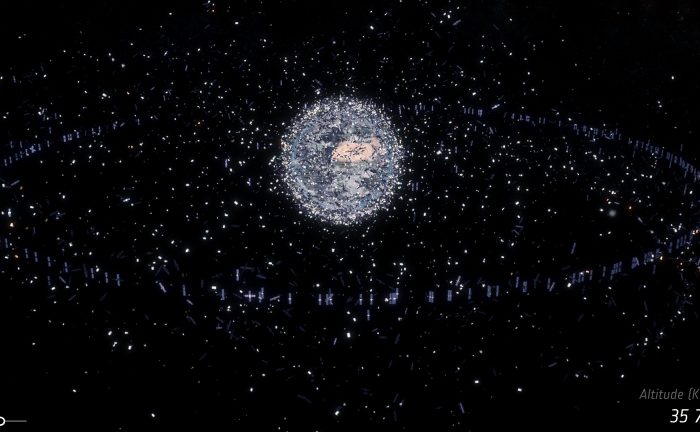 Still image taken from a movie, Space debris ? a journey to Earth, to be released April 18th, 2017. - Image Credit: ESA