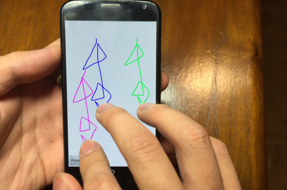 What if you could unlock your smartphone this way? - Image Credit: Janne Lindqvist , CC BY-ND
