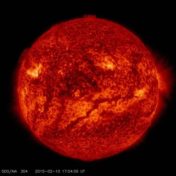 Our Sun in all its intense, energetic glory. - Image Credit: NASA/SDO.