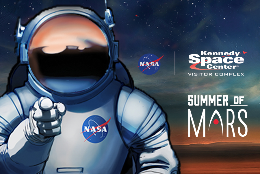 NASA's Summer of Mars. which is running until Sept. 4th, will showcase all the planning that will go into NASA's Journey to Mars. - Image Credit: NASA