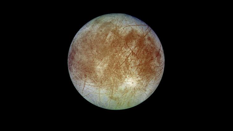 Europa. - Image Credit: NASA