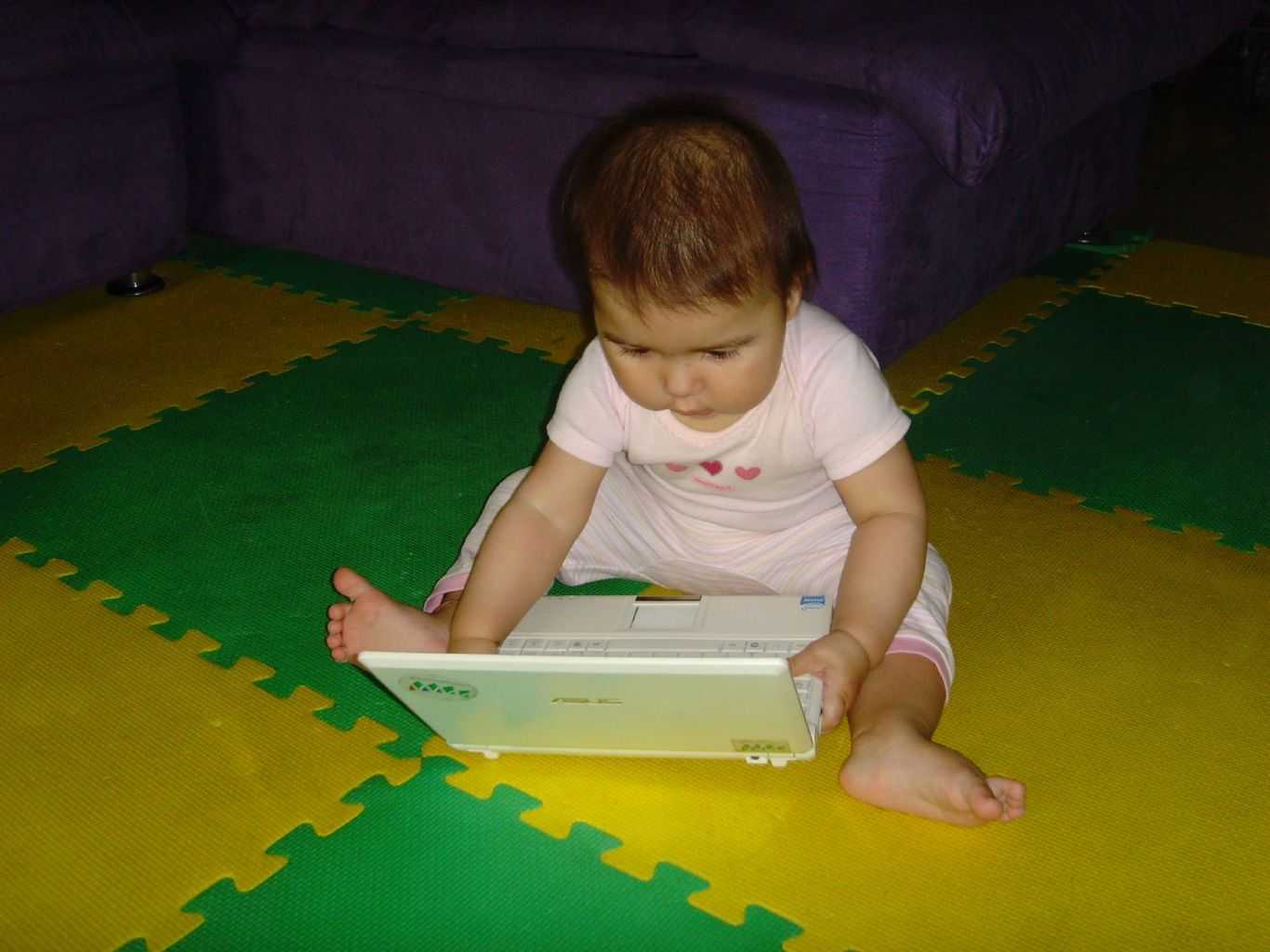 Is she a computer natural? - Image Credit: Micah Sittig , CC BY