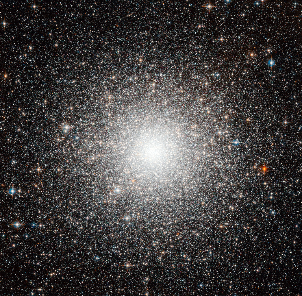 Hubble image of Messier 54, a globular cluster located in the Sagittarius Dwarf Galaxy. - Image Credit: ESA/Hubble & NASA
