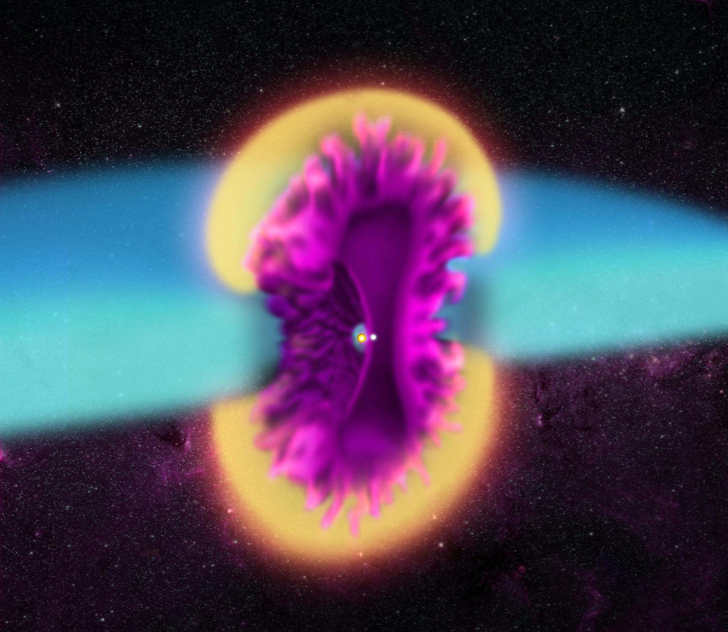 Image credit: Illustrated model: NASA/CXC/M.Weiss