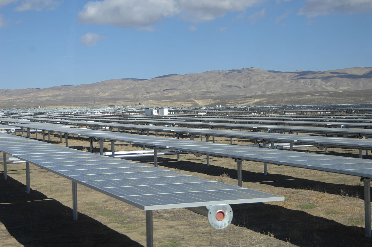 California Valley Solar Ranch - Image Credit:Pacific Southwest Region via Wikimedia Commons