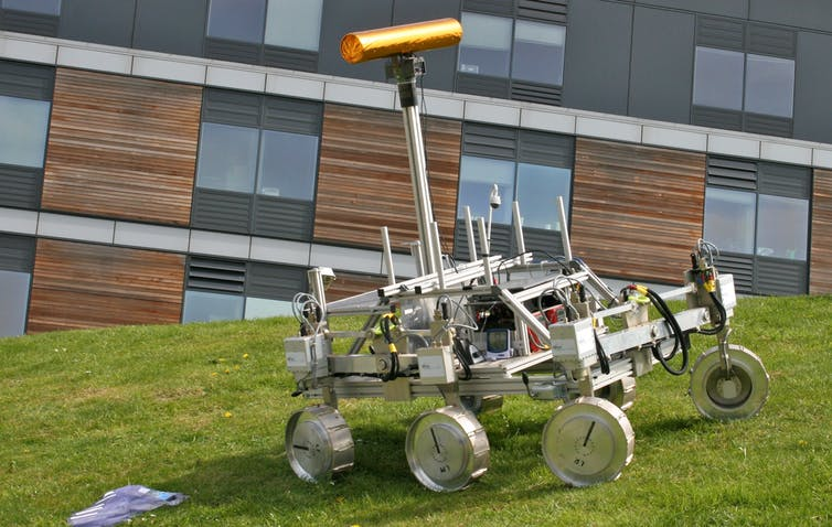 ExoMars prototype rover. - Image Credit: Mike Peel/wikipedia,  CC BY-SA