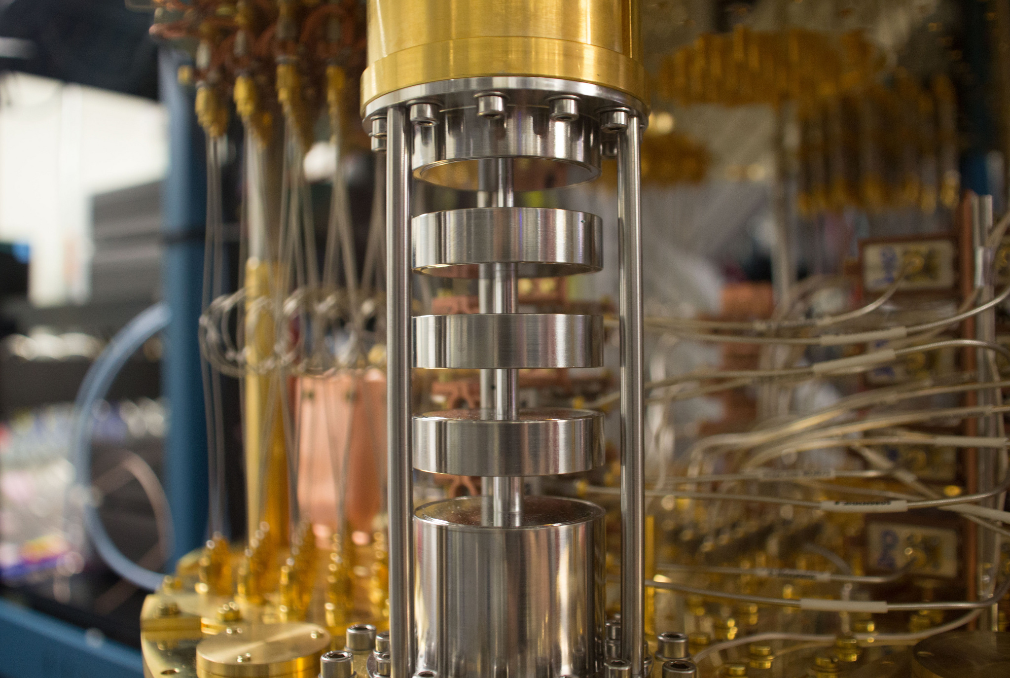 Quantum Computer Mixing Chamber - Image Credit: IBM Research via flickr