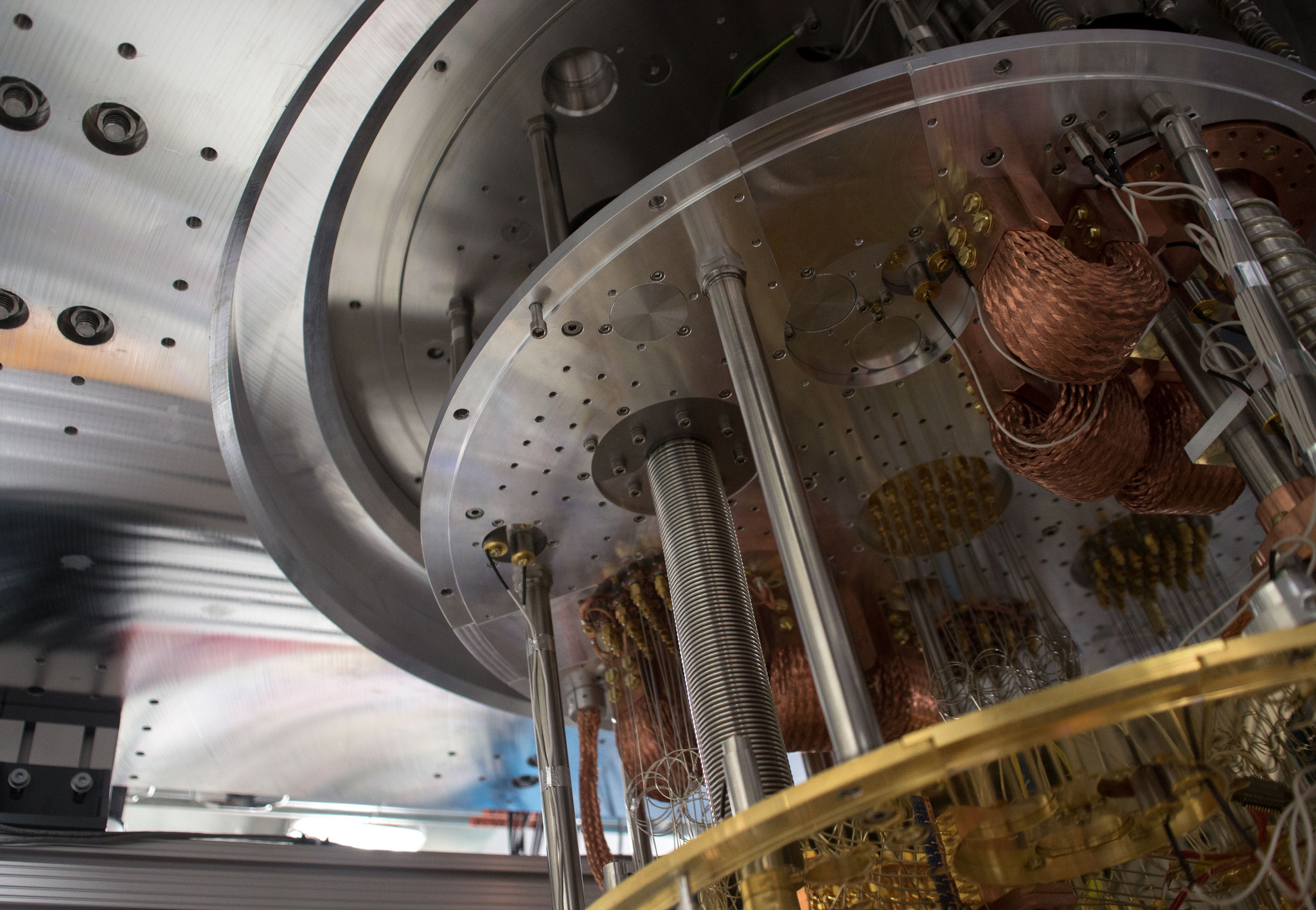 Quantum Computer Interior - Image Credit: IBM Research via flickr