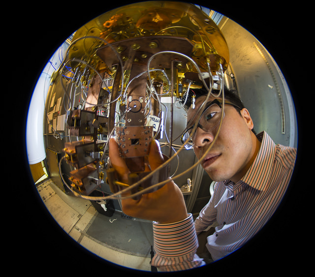 Quantum computing lab - Image Credit:  IBM Research via flickr