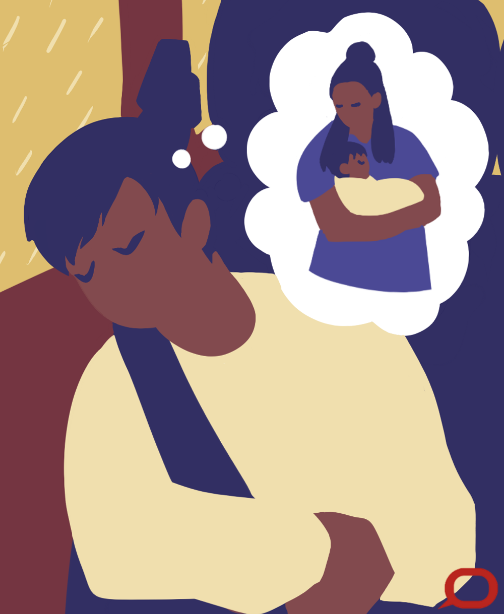 Sleep scientists say that rocking or slow, gentle movements can make us fall asleep if we are tired, just like when we are babies and our parents rock us to sleep. - Image Credit: Marcella Cheng/The Conversation, CC BY-ND (click to enlarge)
