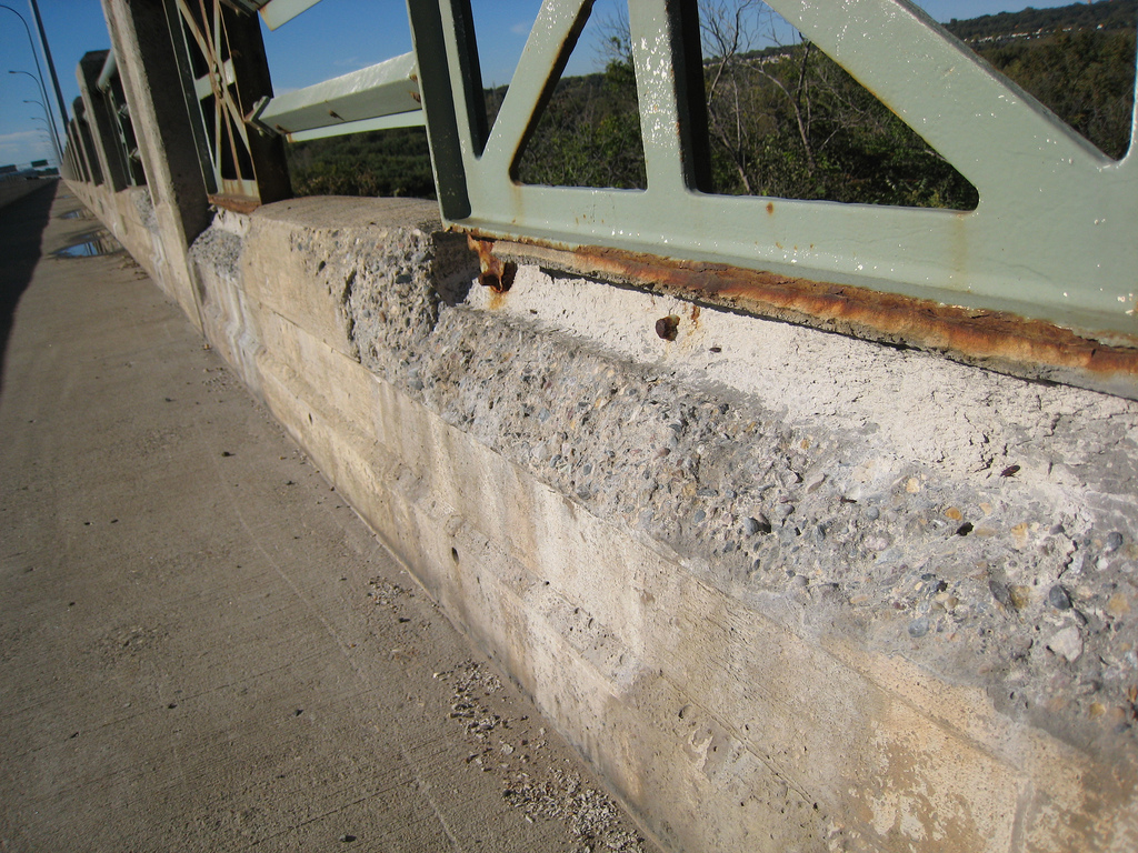 Could a secret ingredient make crumbling concrete a thing of the past? - Image Credit:  m_e_mccarron ,  CC BY-SA