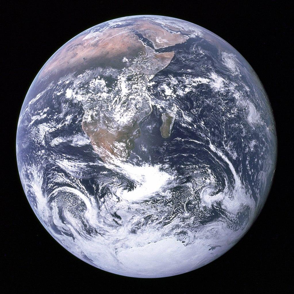 Image Credit:  NASA/Apollo 17 crew; taken by either Harrison Schmitt or Ron Evans via Wikimedia Commons