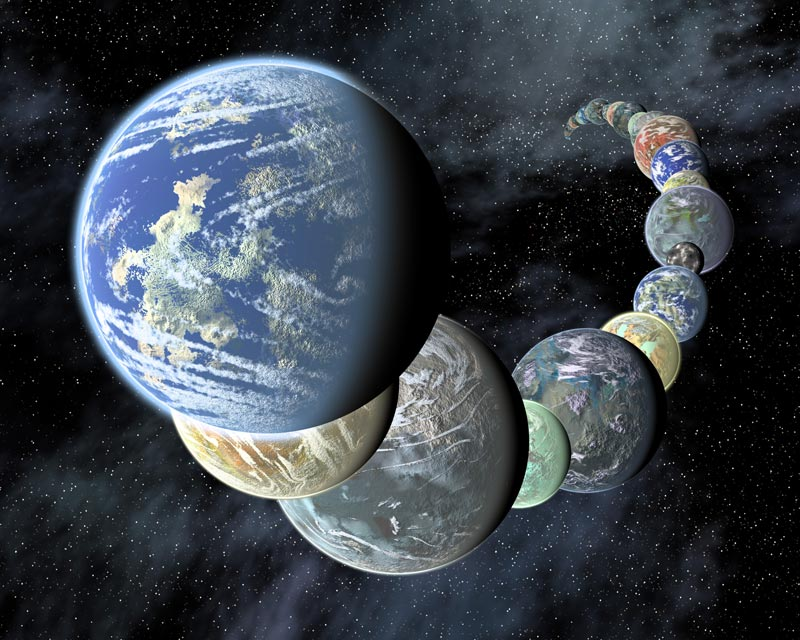 Thanks to advances in technology and detection methods, astronomers have detected multiple Earth-like planets in our galaxy. - Image Credit: NASA/JPL