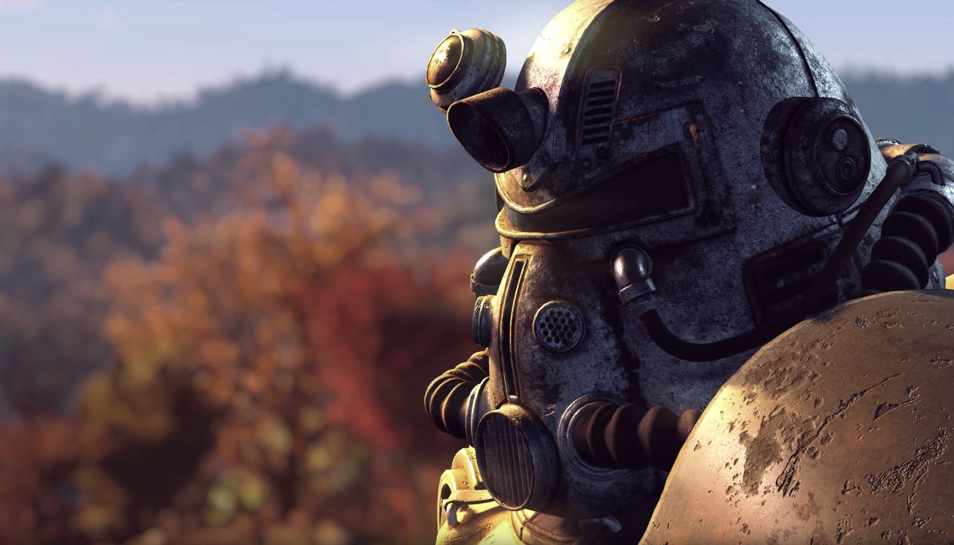 Fallout 76 certainly catches some eyes. The proposed multiplayer aspect is interesting as the developers are intending to make encounters with other players rare and special - Image Credit:  Bethesta Softworks via Youtube