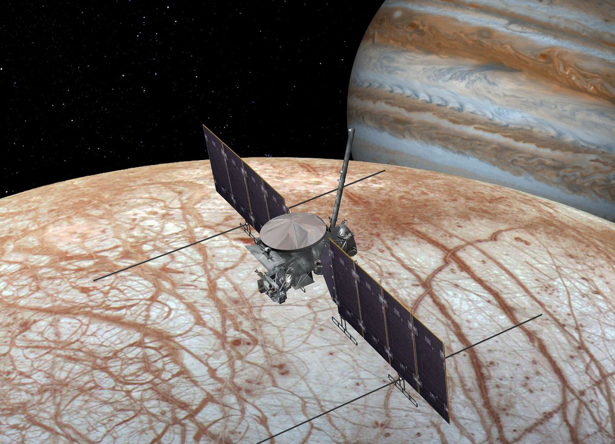 Artist's concept of a Europa Clipper mission. - Image Credit: NASA/JPL