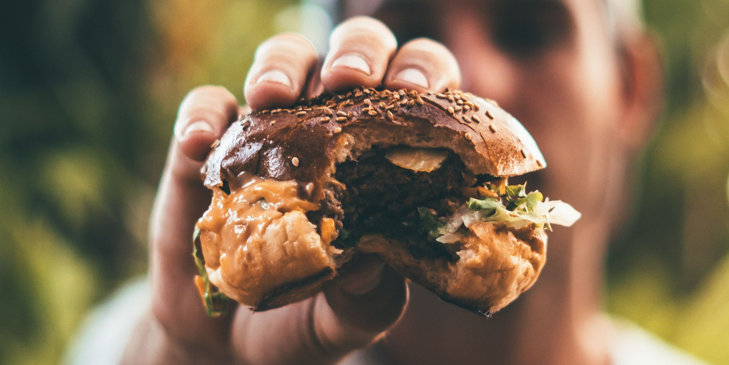 Interested in a juicy burger grown in the lab? - Image Credit:  Oliver Sjöström/Unsplash ,  CC BY